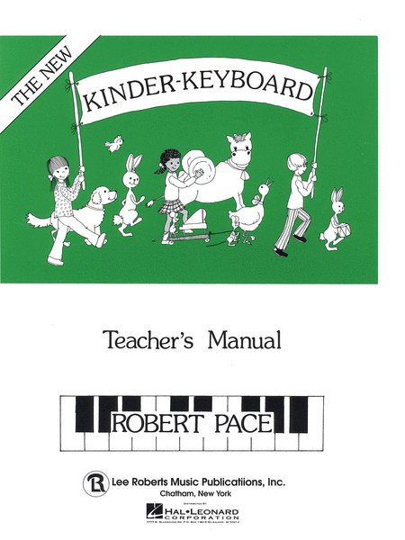 Kinder-Keyboard - Teacher's Manual
