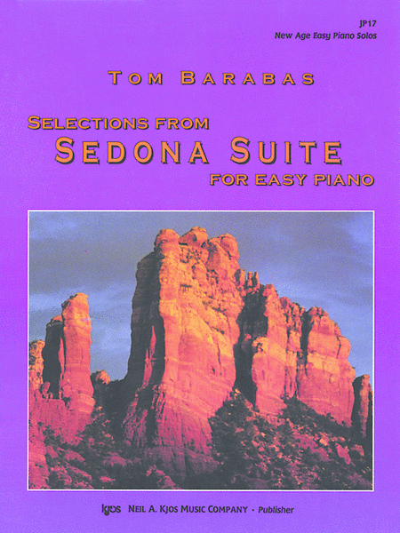 Selections From Sedona Suite For Easy Piano