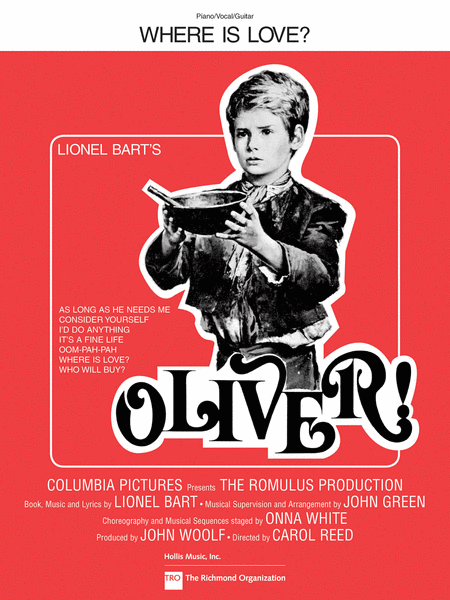 Where Is Love? (from Oliver!)