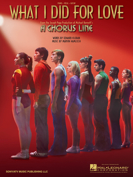 What I Did For Love - From 'A Chorus Line'