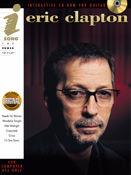 Eric Clapton (Interactive CD-ROM for Guitar)