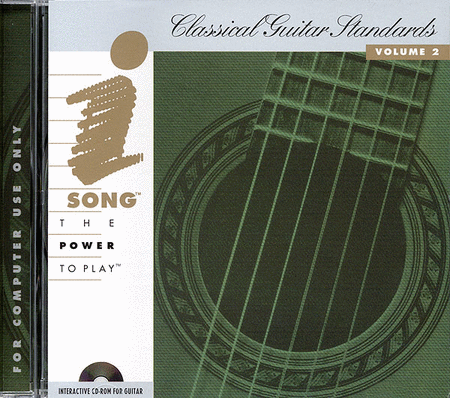 Classical Guitar Standards - Vol. 2 - iSong CD-ROM
