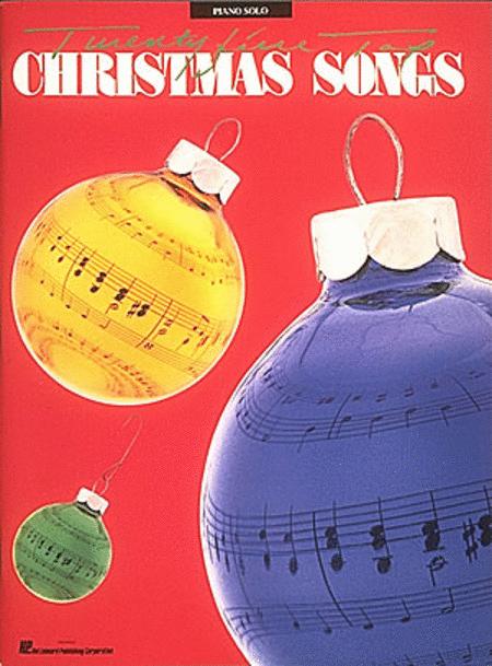25 Top Christmas Songs - Piano Solo