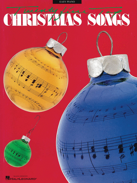 25 Top Christmas Songs - Easy Piano