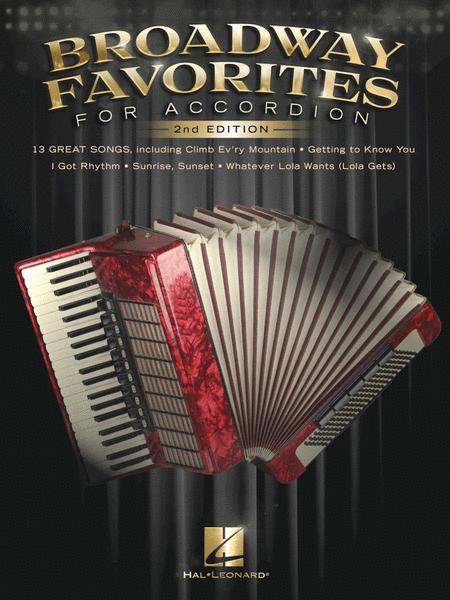 Broadway Favorites for Accordion - 2nd Edition