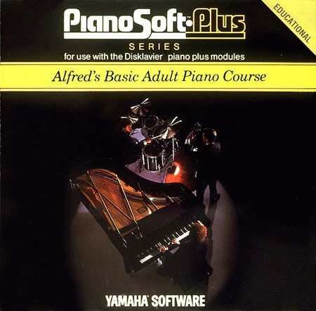 Alfred's Basic Adult Piano Course Lesson Book Level 1 Disk