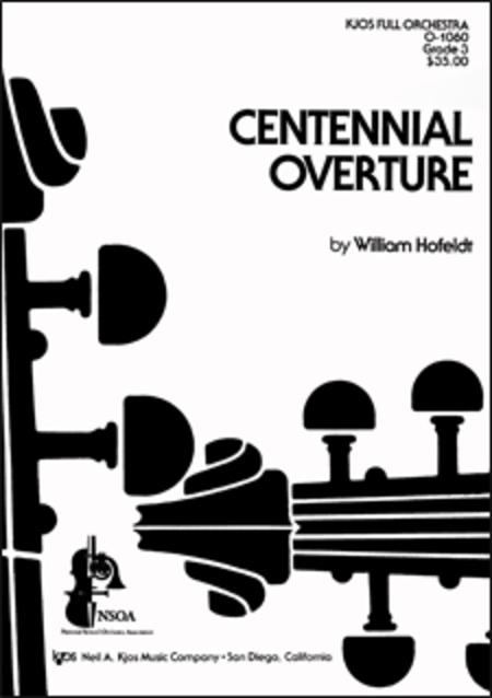 Centennial Overture - Score