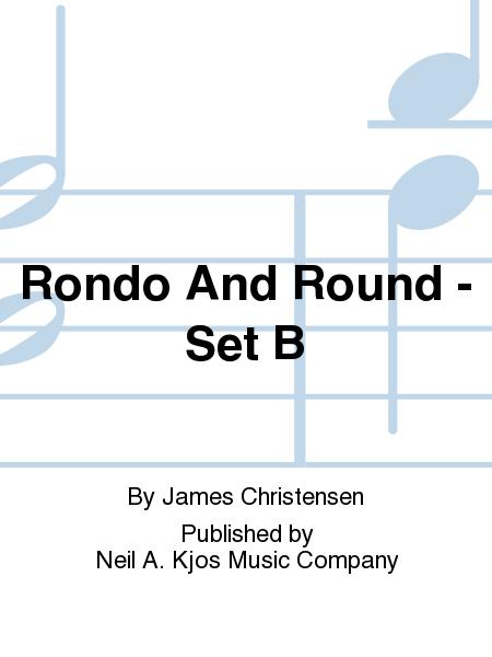 Rondo And Round - Set B