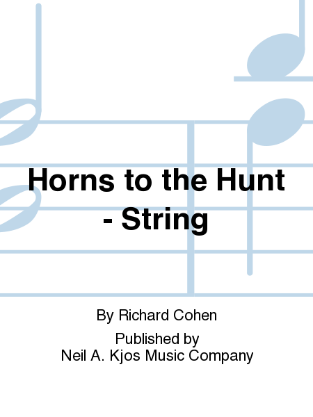 Horns to the Hunt - String