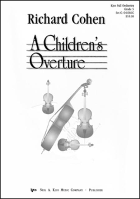 A Children's Overture - Score