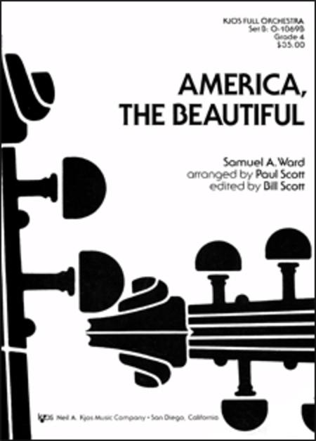 America, the Beautiful - Score