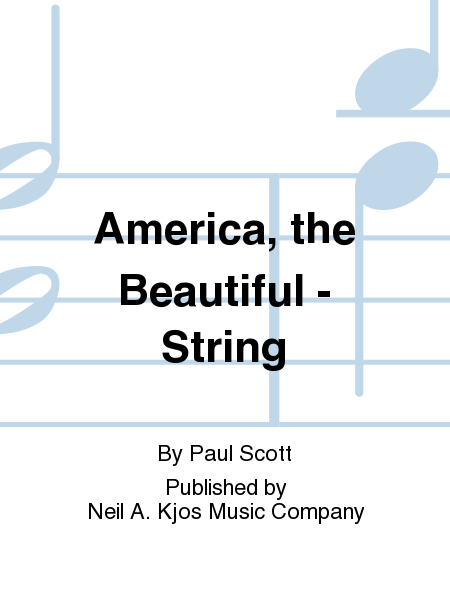 America, the Beautiful - String