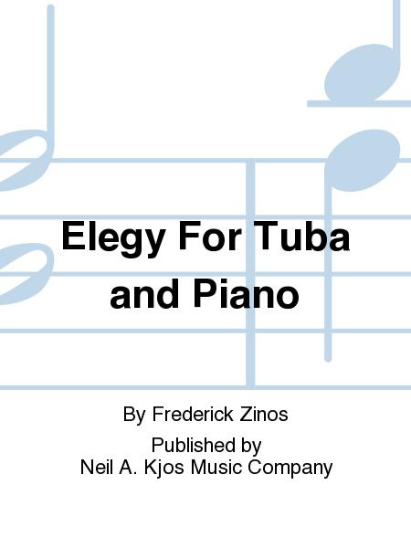 Elegy For Tuba and Piano