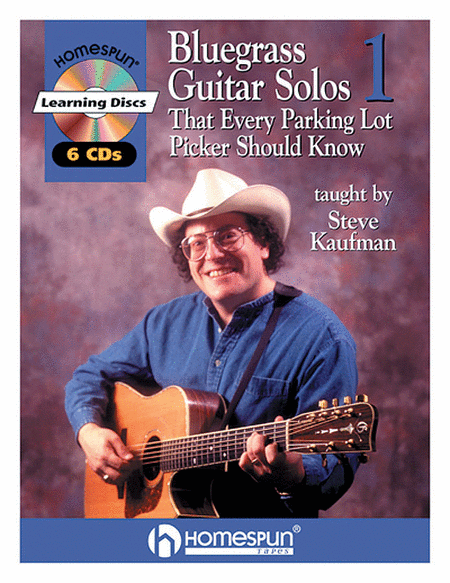 Bluegrass Guitar Solos That Every Parking Lot Picker Should Know - Volume 1