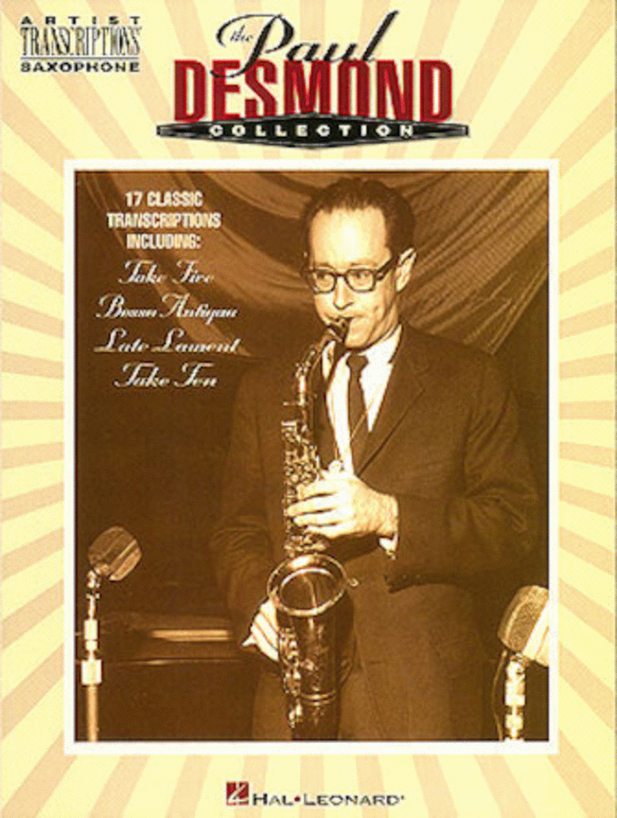 The Paul Desmond Collection - Alto Sax