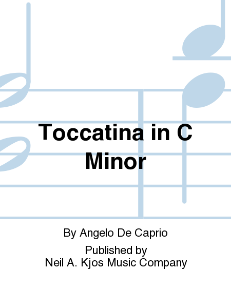Toccatina in C Minor