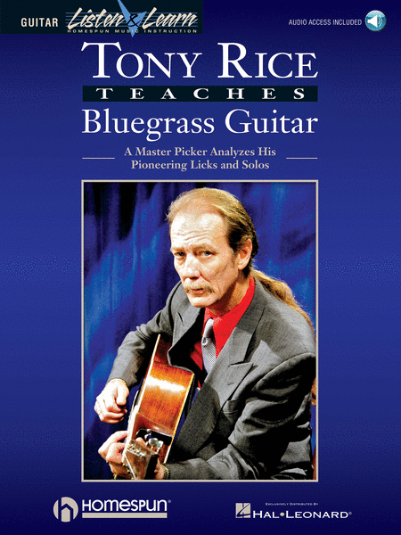 Tony Rice Teaches Bluegrass Guitar