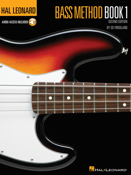Hal Leonard Bass Method Book 1 - 2nd Edition