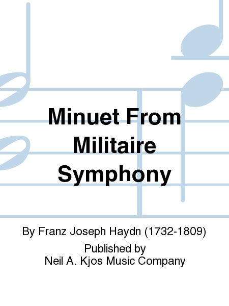 Minuet From Militaire Symphony