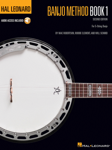 Hal Leonard Banjo Method - Book 1 - Book/CD