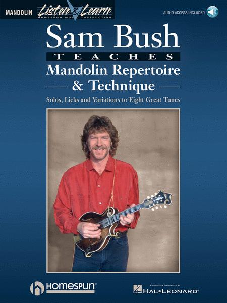 Sam Bush Teaches Mandolin Repertoire & Technique