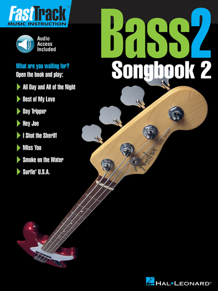 FastTrack Bass Songbook 2 - Level 2