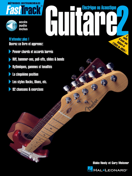 FastTrack Guitar Method - Book 2 - French Edition