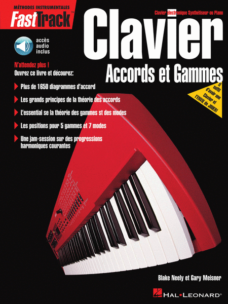FastTrack Keyboard Chords & Scales - French Edition
