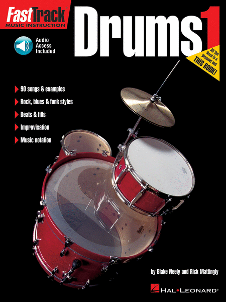 FastTrack Drums Method - Book 1