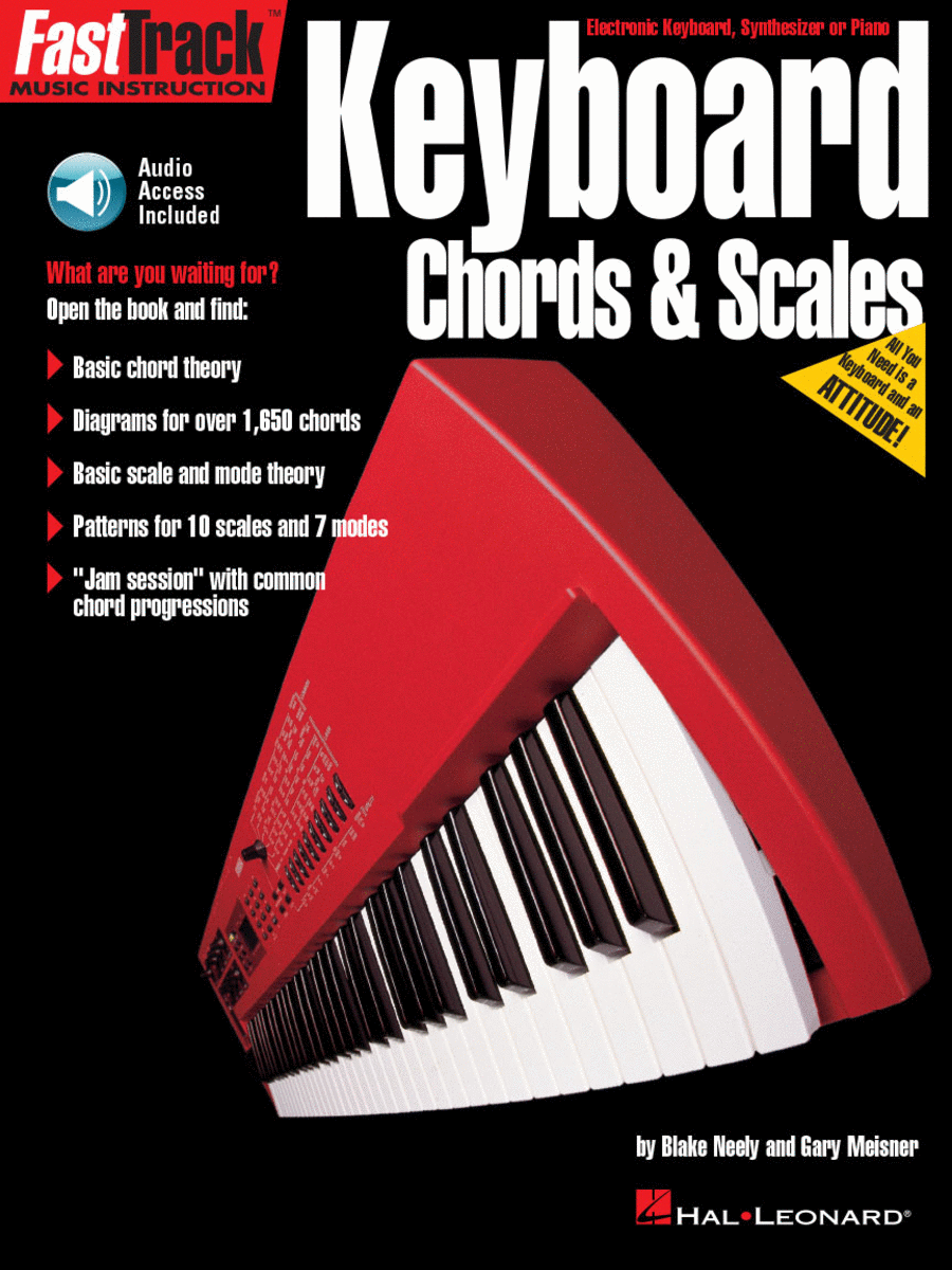 FastTrack Keyboard Method - Chords & Scales