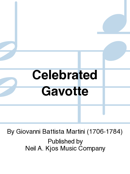 Celebrated Gavotte