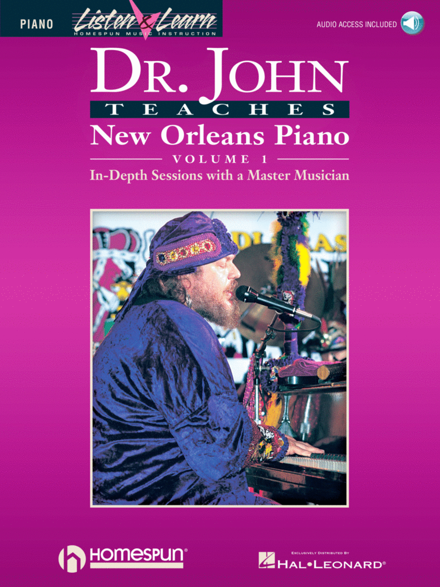 Dr. John Teaches New Orleans Piano - Volume 1