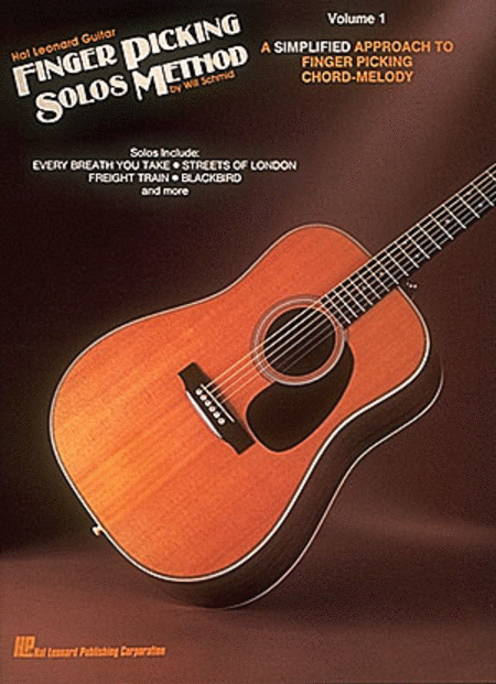 Hal Leonard Guitar Finger Picking Solos Method