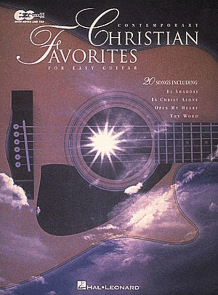 Contemporary Christian Favorites - Easy Guitar