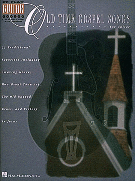 old time gospel songs easy guitar sheet music by various sheet music plus. Black Bedroom Furniture Sets. Home Design Ideas