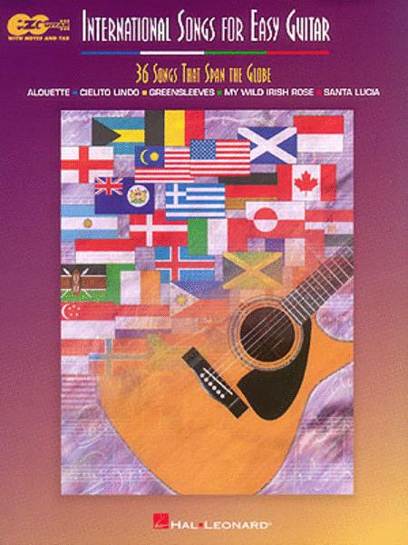 International Songs For Easy Guitar