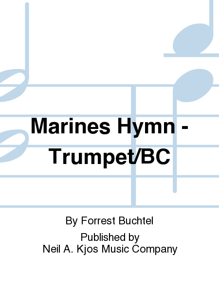 Marines Hymn - Trumpet/BC