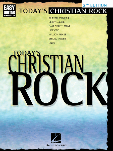 Today's Christian Rock - Easy Guitar