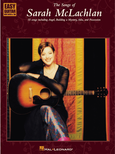 The Songs Of Sarah McLachlan - Easy Guitar