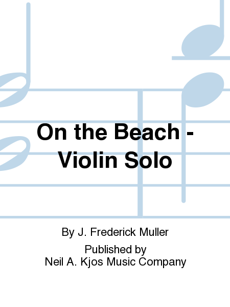 On the Beach - Violin Solo