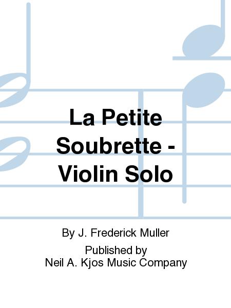La Petite Soubrette - Violin Solo