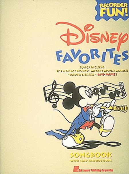 Disney Favorites (Recorder)