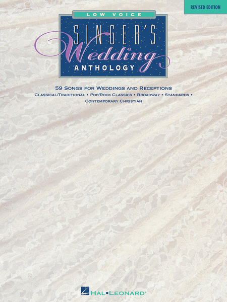 Singer's Wedding Anthology - Revised Edition