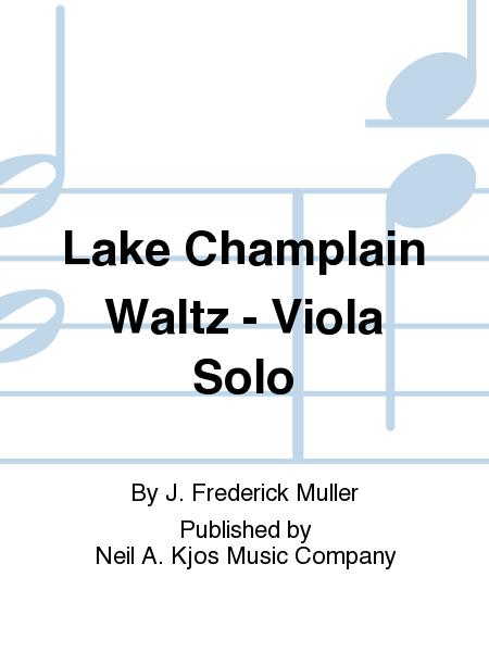 Lake Champlain Waltz - Viola Solo