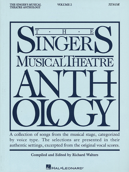 The Singer's Musical Theatre Anthology - Volume 2 - Tenor (Book only)