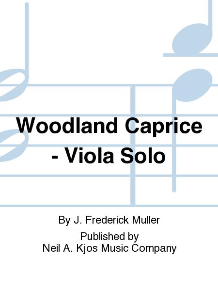 Woodland Caprice - Viola Solo