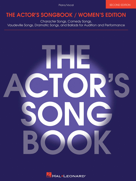The Actor's Songbook - Women's Edition