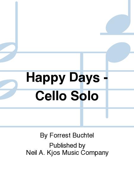 Happy Days - Cello Solo
