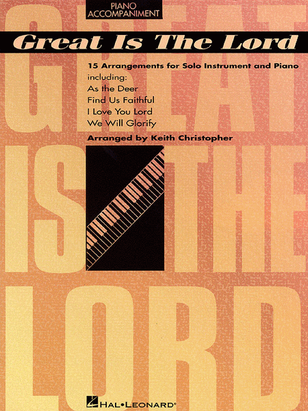 Great Is The Lord - Piano Accompaniment Part
