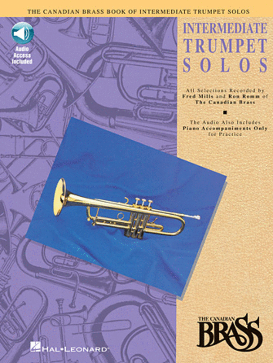 Canadian Brass Book Of Intermediate Trumpet Solos